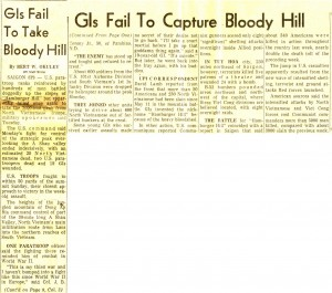 Hamburger Hill - Columbus Citizen-Journal Headline