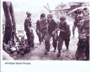 Hamburger Hill - Wounded - AP Wide World